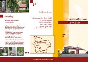 Krematorium Elbe-Elster Flyer 2016